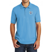 Polo Shirt Aquatic Blue